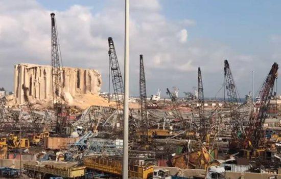 Bejrut po wybuchu w porcie