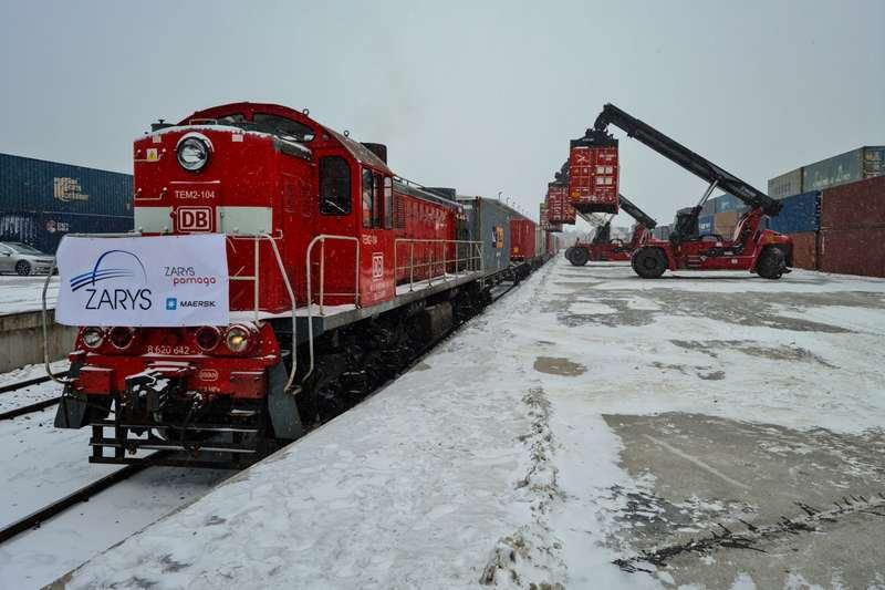 Pociąg z Chin w Małaszewiczach Zarys